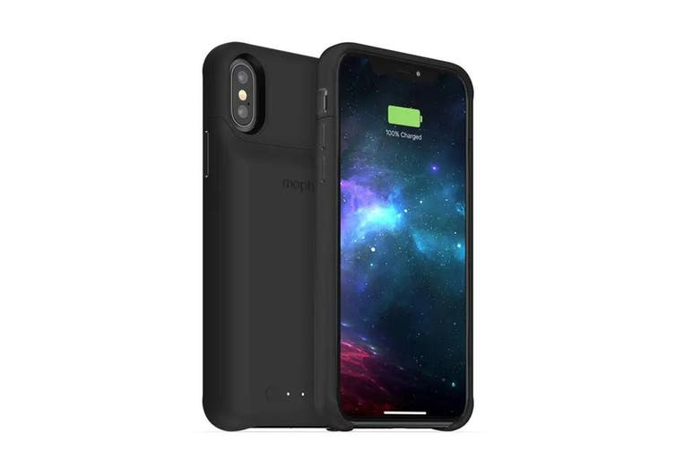 Mophie iPhone XS/X 2000mah Wireless Charging Battery Case Black