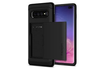 Spigen Galaxy S10+ Slim Armor CS Case Black