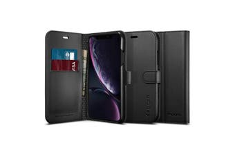 "Spigen iPhone XR (6.1"") Premium flip Wallet Case"