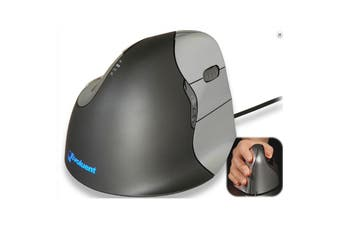 Evoluent VM4R Wired Vertical Mouse 4 right-handed Truly Ergonomic Mouse