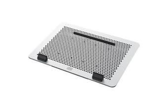 "Cooler Master Aluminum MasterNotepal Master Laptop Cooling Pad Supports upto 17"" Laptop"