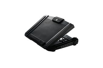 """Cooler Master Gaming SF-17 Laptop Cooling Pad Silent & Powerful 180 mm Fan -  Supports up to 19"""""""