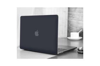 "MacBook Pro 15.4"" Matte Rubberized Hard Case Shell Cover -Black For Apple Macbook Model A1707 A1990"