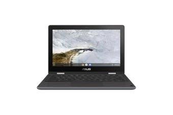"""ASUS C214MA-BU0353 Rugged Flip Chromebook 11.6"""" HD AG Touch Intel Celeron N4020 4GB 64GB eMMC"""