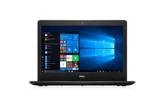 "Dell Inspiron 3493-3464BLK Laptop 14"" HD Intel i5-1035G7 8GB 128GB M.2 SSD + 500GB HDD NO-DVD"
