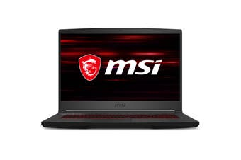 "MSI GF65 Thin GTX 1660 Ti Gaming Laptop 15.6"" FHD 144hz fast screen Intel i7-10750H 16GB 512GB NVMe"