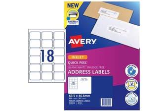 Avery Label J8161-50 Inkjet FSC Mix Credit 50 Sheets