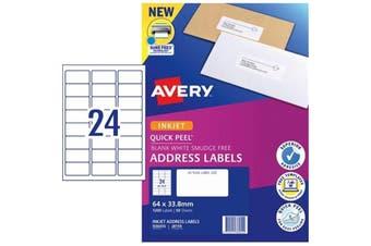 AVERY Label J8159-50 Inkjet FSC Mix Credit 50 Sheets