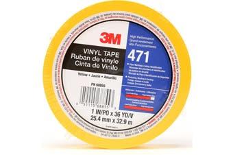 3M Vinyl Tape - 471 25mm x 33m - Yellow
