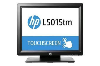 HP M1F94AA L5015tm POS Touch Monitor ELO USB with APR (Acoustic Pulse Recognition) 1024x768 4:3