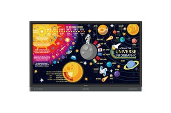 "BenQ RP7501K 4K UHD - 3840x2160 - 75"" Education Interactive Flat Panel - IFP"