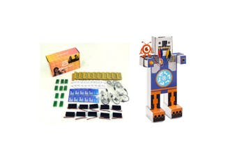 MICRO:BIT Classroom Pack 10 Sets of MicroBit + 1 x BinaryBots Dimm Education Cardboard Robots