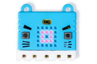 MICRO:BIT BBC microbit Go Kit Pack with KittenBot Blue Silicone Sleeve Motion Detection