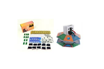 MICRO:BIT Classroom Pack 10 Sets of MicroBit + 1 x BinaryBots UFO Education Cardboard Robots