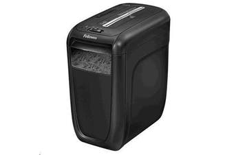Fellowes 60Cs Cross-Cut Shredder 10 Sheet Cross Cut Paper Shredder for the Home or Home Office with