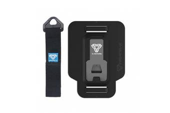 Armor-X (Type-T Adapter) UA40T - Adhesive Adaptor with Hand Strap  for 9-12  inch Tablet Case -Use