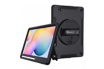Armor-X (RIN Series ) Ultra 3 Layers Rainproof & Shockproof Rugged Case with Hand Strap for Galaxy