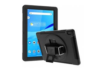Armor-X (RIN Series ) Ultra 3 Layers Rainproof Shockproof Rugged Case with Hand Strap for Lenovo M10
