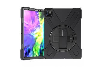 Armor-X (JLN Series) Tablet Case -Ultra 3 Layers Shockproof Case  with Hand Strap and Kickstand for