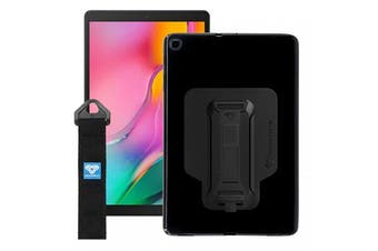 Armor-X Protective  Case for Galaxy Tab A 8.0 (2019)  T290  & T295  With KickStand & Handstrap -