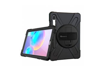 """Armor-X (JLN Series) Tablet Case -Ultra 3 Layers Shockproof Case for Galaxy Tab S6  10.5""""  with Hand"""