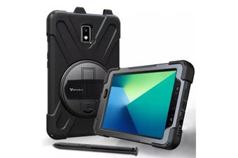"""Armor-X (JLN Series) Tablet Case -Ultra 3 Layers Shockproof Case for Galaxy Tab Active2 (SM-T395) 8"""""""