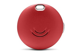 Orbit Key Bluetooth Tracker ( Candy Red  ) -Premium aluminium waterproof casing and replaceable