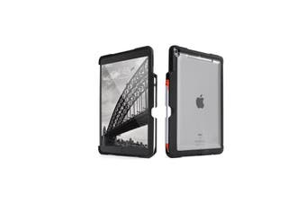 STM Dux Shell Duo Rugged Protective Case for iPad Air 3 & iPad Pro 10.5 -Black /Clear