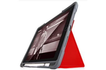 """STM Dux Plus Duo Case for iPad Air 3  & iPad Pro 10.5""""   - Red"""