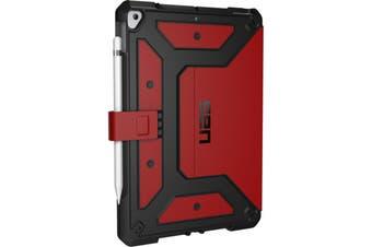 """Urban Armor Gear Metropolis Series Folio Case iPad 10.2""""  (7th Gen) - Magma"""