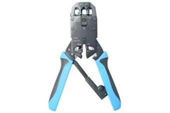 Dynamix RJ-45/ RJ12/RJ11/DEC Modular RJ-45/ RJ12/RJ11/DEC Modular Crimping Tool - Professional
