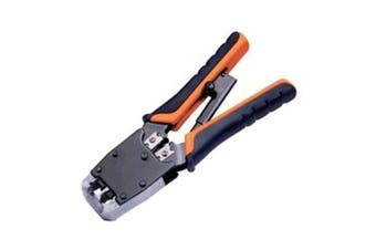 HANLONG RJ-45/ RJ12/RJ11 Modular Crimping Tool - Professional Series Supplied with bundled Stripping