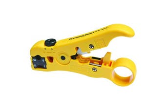 PlatinumTools 15018 PLATINUM TOOLS All-In-One Stripping Tool. Coax