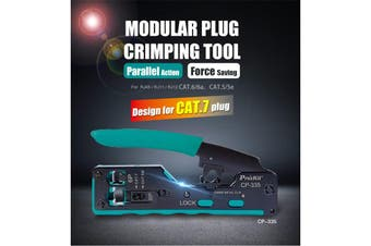 ProsKit CP-335 New Cat.7 Modular Plug Crimping Tool