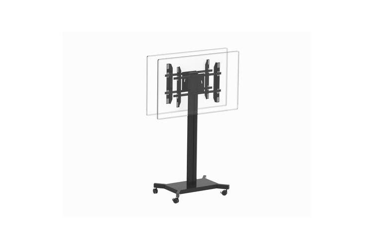 "Koford AVE200B 30""-60"" Dual TV Display Mobile TV Cart Trolley"