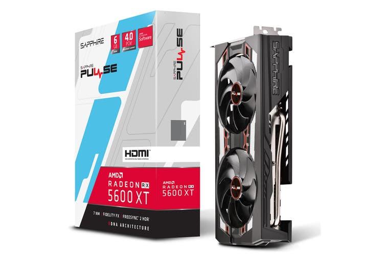 Sapphire Radeon PULSE RX 5600 XT Graphics Card 6GB GDDR6
