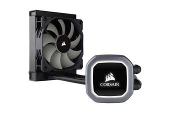 Corsair Hydro Series H60 V2 All-in-One Liquid Cooling with 120mm Radiator and White LED-lit pump