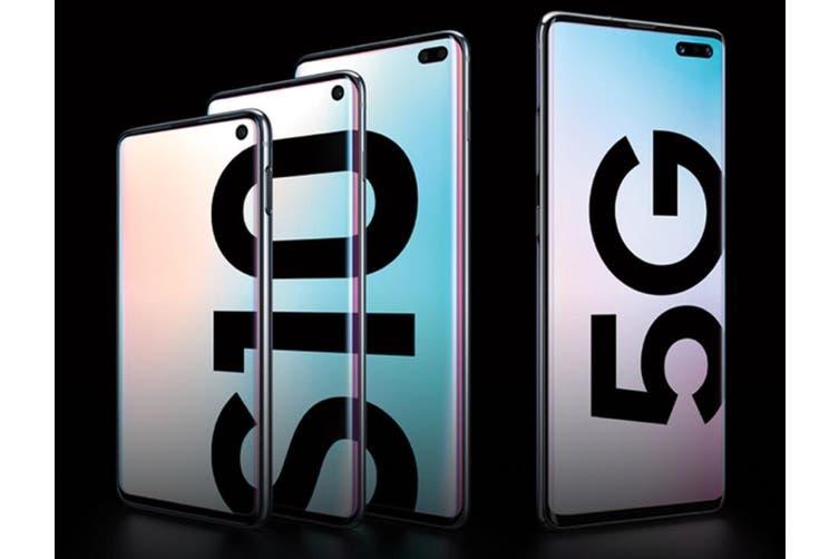 Samsung Galaxy S10 5G (G977B, AU Model) 256GB Silver - Excellent Condition