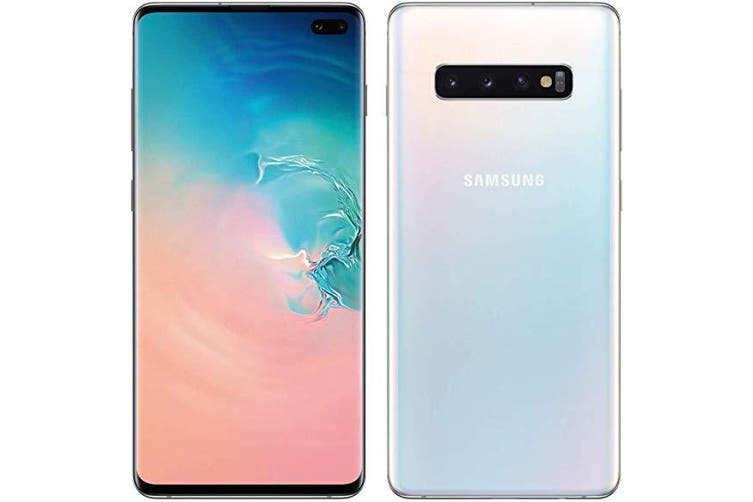 Samsung Galaxy S10+ (AU Model, G975F) 128GB White - Excellent Condition