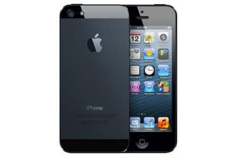 As New Apple iPhone 5 16GB Black (Refurbished)