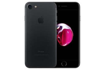 As New Apple iPhone 7 256GB Matt Black (Refurbished)