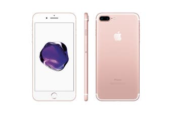 As New Apple iPhone 7+ Plus 128GB Rose Gold (Refurbished)