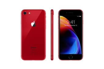 As New Apple iPhone 8 256GB Red (Refurbished)