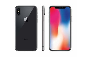 Apple iPhone X 64GB Space Grey -  Good Condition (Refurbished)