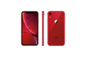 As New Apple iPhone XR 128GB Red (Refurbished)