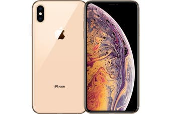 As New Apple iPhone XS 256GB Gold (Refurbished) - Bonus Free Case + Screen Protector