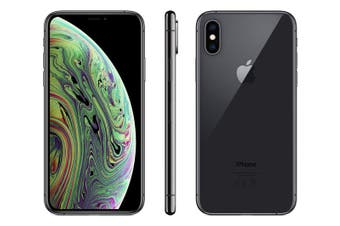 As New Apple iPhone XS 256GB Space Grey (Refurbished) - Bonus Free Case + Screen Protector