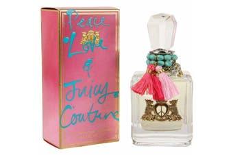 Peace, Love & Juicy Couture by JUICY COUTURE for Women (100ML) Eau de Parfum-BOTTLE