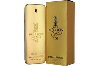 1 Million by PACO RABANNE for Men (200ML) Eau de Toilette-BOTTLE