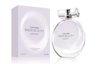 Sheer Beauty Essence by CALVIN KLEIN for Women (100ML) Eau de Toilette-BOTTLE